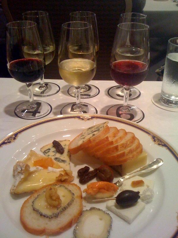 チーズとワインのセミナー