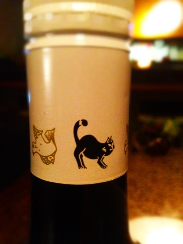 濃いワインが美味しい