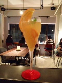サングリア&オレンジスパークリング