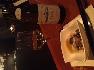 シャブリ&牡蠣